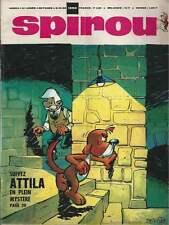 JOURNAL DE SPIROU N°1590 . 1969 + MINI-RÉCIT HUBUC + FICHE DOCUMENTATION . (17)