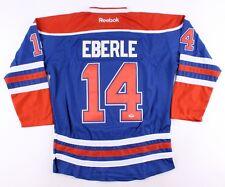 Jordan Eberle Signed Oilers Jersey (PSA COA) 22nd Overall Pick 2008 NHL Draft