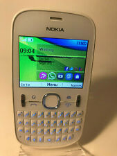 Nokia Asha 201 - White (Unlocked) Smartphone Mobile QWERTY - Lines on display