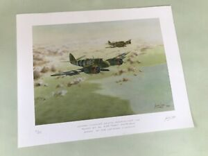 Bristol Beaufighter - RAF/aviation signed limited edition print by Gordon Sage