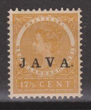 Nederlands Indie Netherlands Indies Indonesie 73 MLH JAVA 1908 NO GUM