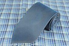 Gianfranco Ferre Men's Tie Blue & Brown Dobby Woven Silk Necktie 58 x 3.25 in