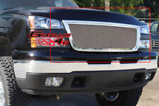 Fits 05-06 Chevy Silverado 2500/3500 Stainless Mesh Grille