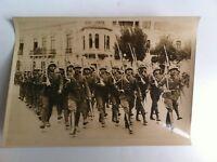 FOTO DI STAMPA PARATA DI TRUPPE PERUVIANO AL IMA 20/2/1939