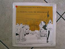 """GUIDO CREPAX Art Cover """"La Polifonia Sacra nel Rinascimento"""" - LP"""