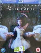 The Vampire Diaries The Complete Second Season Love Sucks 4 Blu Ray Discs New