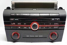 08-09 Mazda 3 AM FM CD MP3 OEM Radio Receiver P/N: BAR4 66 AR0