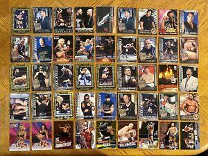 Wresting WWF RAW 442 Cards THE Rock Hulk Hogan 2001 & 2002 Fleer All Access