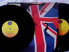 BRITISH ROCK CLASSICS Double LP Various Artists 1979 Sire R234021 Vinyl EX++!