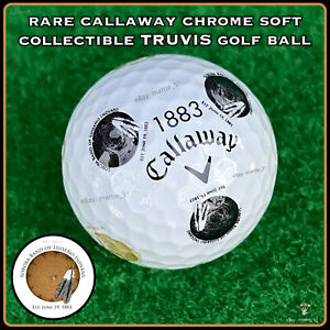 (1) Callaway Chrome Soft TRUVIS Golf BALL (1883) Soboba Band of Luiseno Indians