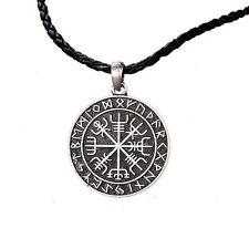 Vegvisir Norse compass Vikings Amulet Runes Pendant Necklace