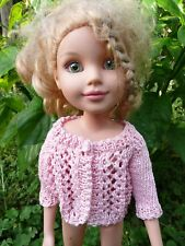 Handmade knit Pink Doll Sweater