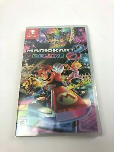 Brand New & Sealed Mario Kart 8 Deluxe for Nintendo Switch