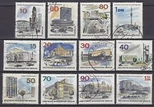 GERMANY - BERLIN 1965 used SC# 9N223 - 9N234  The new Berlin