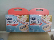 6 Schick Intuition pure Nourishment coconut milk&almond oil cartridges