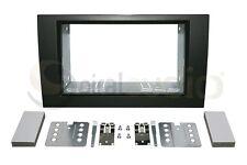 AUDI A4 2002-2008 Radio Stereo Dash Kit Standard 2DIN SATIN BLACK KT-AU002B