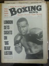"04/04/1969 Boxing News Magazine: Vol: 25 No: 14 - Content To Include: ""London Se"