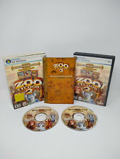 Zoo Tycoon 2: Zookeeper Collection PC CD-Rom 2006 Windows Simulation Game