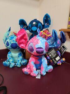 Stitch Crashes Disney Plush Set NIH NWT FREE SHIPPING