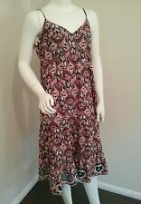 Ladies Sussan size 16 summer festival cotton beach dress