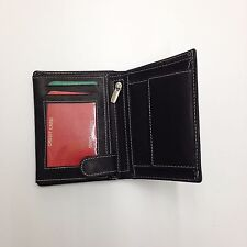 Genuine Leather Bifold Credit Card/ID Security Wallet Handmade in India 06