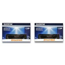 Sylvania SilverStar - Two 1 Packs - H4656ST Light Bulb Fog Daytime Running zh