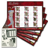 St. Louis Cardinals Postage Stamp Sheets