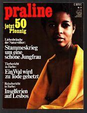 Praline Nr. 21 21.5.1969 VERUSCHKA GRÄFIN VON LEHNDORFF, DIANA RIGG, Karmann
