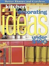Kitchen Decorating Ideas Under $100 (Better Homes & Gardens)