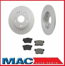 Accord Hybrid (2) Rear Brake Rotors & Ceramic Pads 44594 CD365