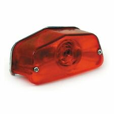 Taillight Tail Light Custom Lucas Red Lens Motorcycle All Models Harley Davidson