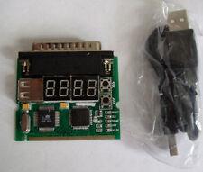 Universal Notebook 4-Digit Diagnostic Card - US SELLER - POST Test Tool LPT USB