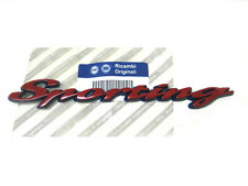 Fiat Schriftzug Emblem SPORTING Seicento Cinquecento