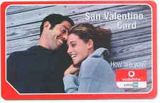OMNITEL VODAFONE SAN VALENTINO CARD CARTA SERVIZI 2006.12