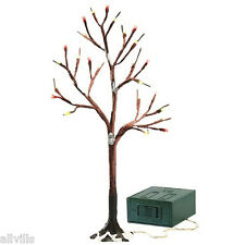 Dept 56 retired TWO (2) BARE BRANCH TREES 25 lights Adapters are included