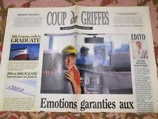 CATALOGUE AUTO : PEUGEOT : COUP DE GRIFFES 18-21/09/1992