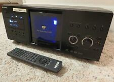 SONY DVP-CX985V ~ Disc Explorer 400 CD / DVD Changer Player with RM-DX500 Remote