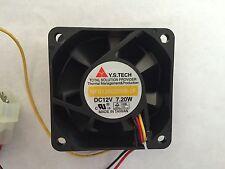 Y.S. TECH 60X60X25MM FAN MODEL :NFD126025BB-2F
