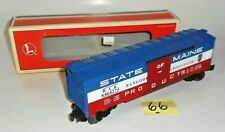 VINTAGE LIONEL O SCALE 6464-275 BANGOR AND AROOSTOOK STATE OF MAINE BOX CAR 66