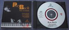 TRIO LOUSSIER PLAY BACH Ermitage 1993 ITALY Digitally Remastered Piano Keyboard