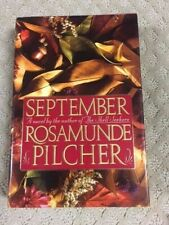September by Rosamunde Pilcher (1990, Hardcover) First Edition Dust Jacket