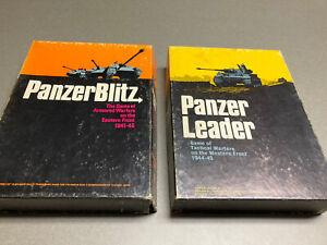 Avalon Hill PANZERBLITZ + PANZER LEADER