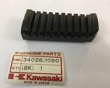 Gomma pedana post. - Step Rear Rubber - Kawasaki ZX750 ZX1100 NOS:  34028-1060