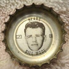 1966 Coke Bears Bottle Cap - Bill Wade - Vanderbilt alumni