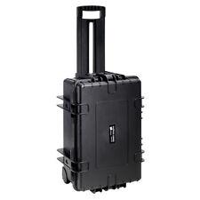 B&W International 6700/B/Rpd 42.8 L Plastic Outdoor Case w/ Wheels & Rpd Insert