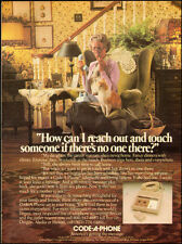 1980-CODE-A-PHONE`Telephone, answering machine`grandmother-Vintage Ad