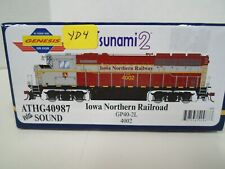 Athearn Genesis Iowa Northern GP 40 w/ DCC&SND