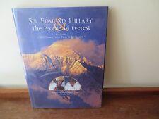 Sir Edmund Hillary & The People of Everest - H/C  D/J  2002