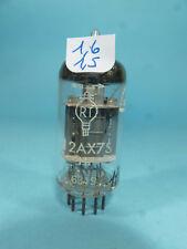 one rare ECC83 E83CC 12AX7S RT, white label, code FRS, tested near NOS tube