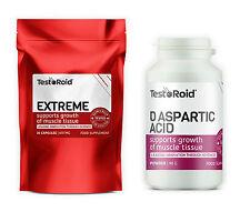 TESTOROID EXTREME & TESTOROID DAA EXPLOSIVE TESTOSTERONE BOOSTERS GREAT RESULTS